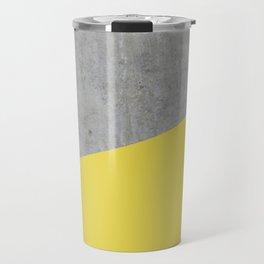 Concrete and Meadowlark Color Travel Mug