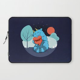 Rawrmeo, the Cuddly Happy Chaos Monster Laptop Sleeve