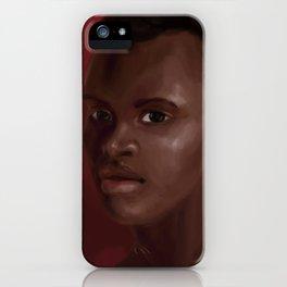 Kina Jones iPhone Case