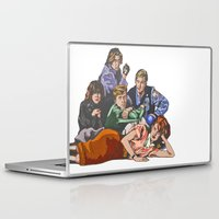 the breakfast club Laptop & iPad Skins featuring The Breakfast Club by Heidi Banford