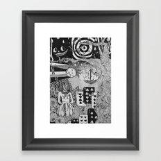 alice's dreams Framed Art Print