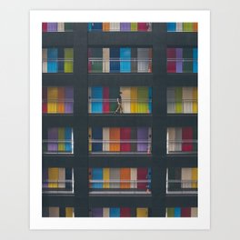 Tokyo Colors Art Print
