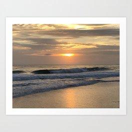 OB Sunrise Art Print