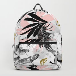 Bird in abstract nature II Backpack