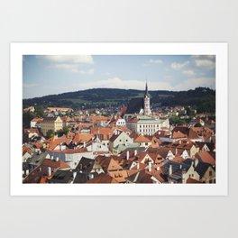 Český Krumlov Art Print