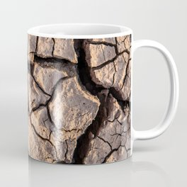 Cracks in the mud Coffee Mug