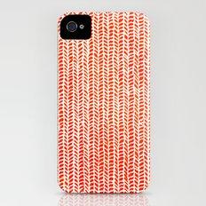 Stockinette Orange Slim Case iPhone (4, 4s)