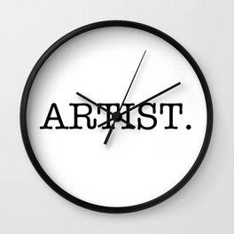 Artist Wall Clock
