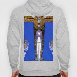 """Art Deco Orientalism """"Cleopatra"""" Design Hoody"""