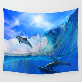 Hanging 10 Wall Tapestry