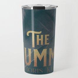 The Mummy, Boris Karloff, 1932 cult horror movie poster, vintage affiche Travel Mug