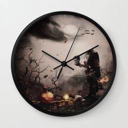 Robin Hood Halloween Wall Clock