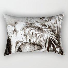 Alien Sex Fiend Rectangular Pillow