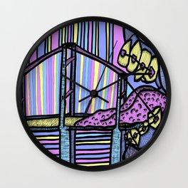 Teenage Toll Bridge Wall Clock