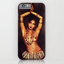 Josepine Baker, Vintage Entertainer iPhone Case