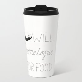 Monologue Travel Mug
