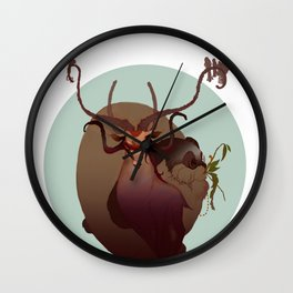 The Night Deer & Pepín le Lapin Wall Clock