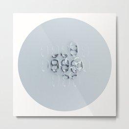 Pop Tabs Metal Print