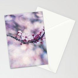 Pink Cherry Blossom - Yamazakura Flower Stationery Cards