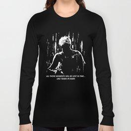 Blade Runner - Like Tears In Rain Long Sleeve T-shirt