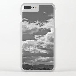 Desert Strom XI Clear iPhone Case