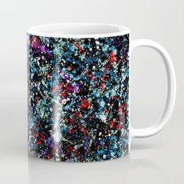 paint drop design - abstract spray paint drops 4 Coffee Mug