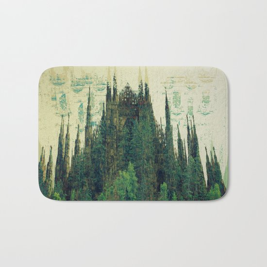 Forest Cathedral Bath Mat