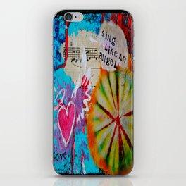 Sing Like an Angel iPhone Skin