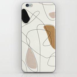 Thin Flow II iPhone Skin