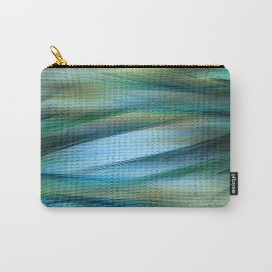 Soft Feathered Lights Abstract Carry-All Pouch