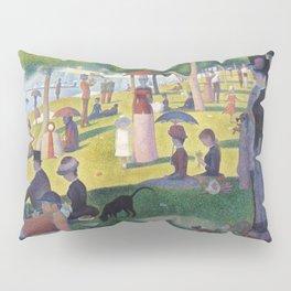 A Sunday on La Grande Jatte by Georges Seurat, 1884 Pillow Sham