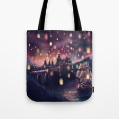 Lights for the Lost Princess Tote Bag