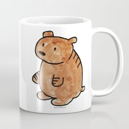 Pudgy Brown Bear Coffee Mug