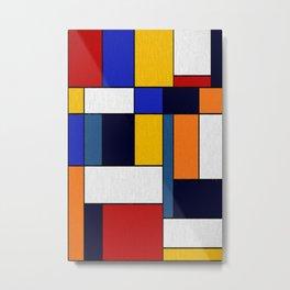 Abstract #351 Metal Print