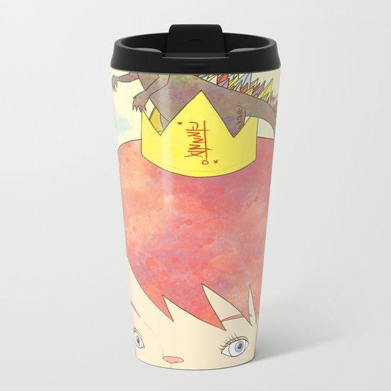 CROWN NEST - GOZILLA KING 고질라킹 Metal Travel Mug