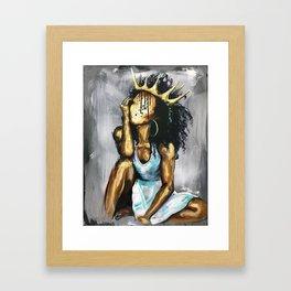 Naturally Queen XI Framed Art Print