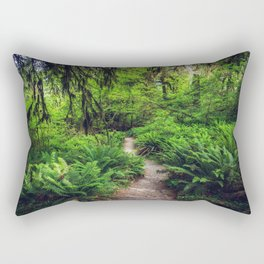 Rainforest Trail Rectangular Pillow