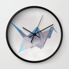 Origami-UniverseBird Wall Clock