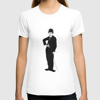 charlie chaplin T-shirts featuring Charlie Chaplin by liamgrantfoto