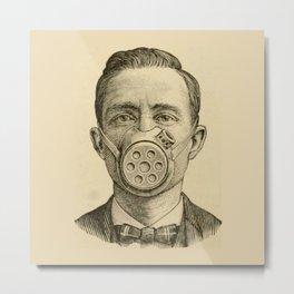 Masked man. Metal Print