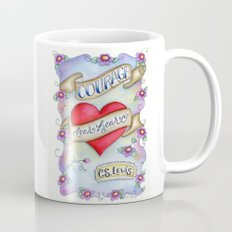 Courage Dear Heart Coffee Mug