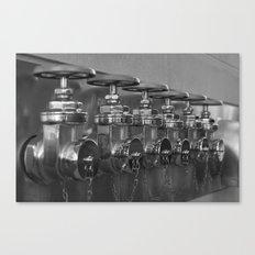 Hydrants Canvas Print