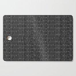 Binary Code in DOS Cutting Board