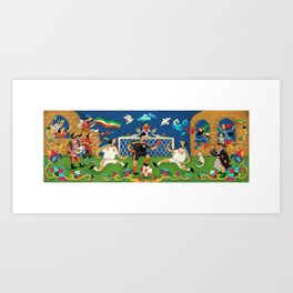 world cup 2018 Art Print