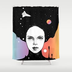 If You Were My Universe Shower Curtain