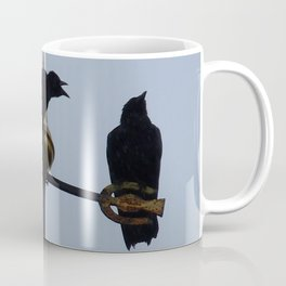 Scottish storm crows Coffee Mug