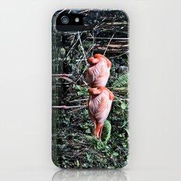 Pink Flamingos iPhone Case
