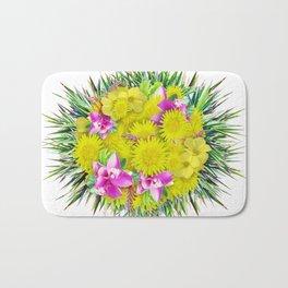 FlowerBall Bath Mat
