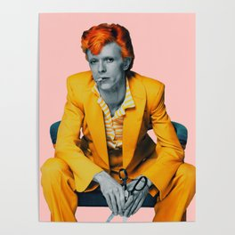 pinky bowie 2 Poster