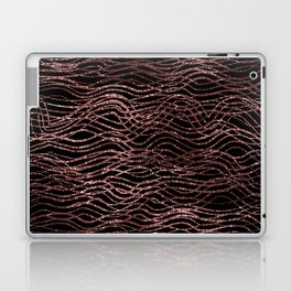 sparkling rose waves Laptop & iPad Skin